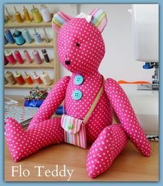 Teddy Bear PDF sewing Pattern by LillyBlossom on Etsy