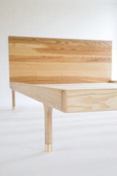Kalon Simple Bed frame. Mid-century-inspired. #design
