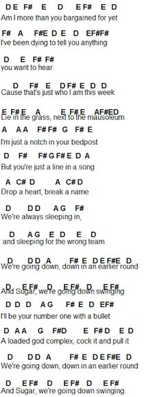 Flute Sheet Music: Sugar, We're Goin Down - fall out boy Piano Songs, Piano Music, Piano Jazz, Music Letters, Ukulele Songs, Flute Sheet Music, Music Sheets, Goin Down, Disney Songs