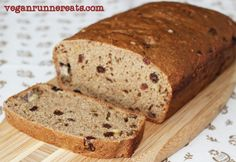 Guilt-Free Vegan Baking: Banana Nut Bread. No added oil! #vegan #bread #recipe