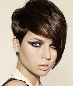 Fashion News Info » Blog Archive » Long Bangs Short Hair Styles