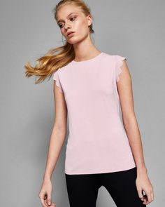 http://www.tedbaker.com/uk/Womens/Clothing/Tops-and-T-shirts/ELLIAH-Scallop-detail-fitted-T-shirt-Dusky-Pink/p/144443-DUSKY-PINK