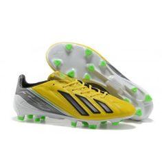 newest c7d8f bd2c8 Lionel Messi F50 Adidas Adizero TRX FG LEA Jaune Noir Vert Cheap Soccer  Cleats, Nike
