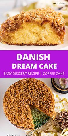 Best Dessert Recipes, Easy Desserts, Indian Food Recipes, Cake Recipes, Danish Cake, Danish Food, Bakers Gonna Bake, Dream Cake, Healthy Sweets
