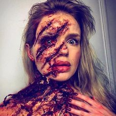 They say beauty is in the eyes other beholder. At @muaculture, we love Makeup Artist and the beautiful work they create. This work and point of the detail by @km.makeup.art is amazing. --- Inspired by An American Werewolf in London --- #horror #horrormovie #movie #film #art #sfx #sfxmakeup #makeup #gore #scary #specialeffects #macabre #blood #horrorart #mua #makeup #makeupartist #horrormakeup #horrorfx #terror #sculpture #spfx