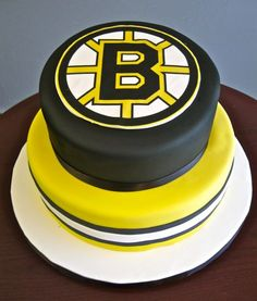 Bruins Cake Not Made By Me Hockey Birthday Parties Party