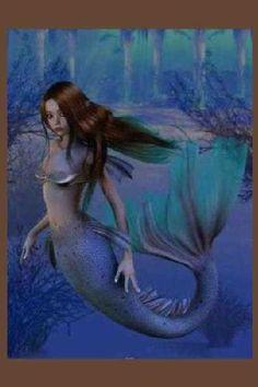 •HiStOrIaS dE sIrEniTaS• : Las sirenas son mujeres-pez de gran belleza y con una preciosa voz. La leyenda cuenta que eran seres humanos en el pasado, pero fueron convertidos en un pez por poderes desconocidos. También hay teorías sobre un tipo de sirena alada que acabó degenerando en la mujer-pez que hoy conocemos.  La parte superior de su cuerpo es una hermosa mujer de piel bronceada y de cabellos verdosos. Su parte inferior es la de un pez con cola y escamas verdes-plate
