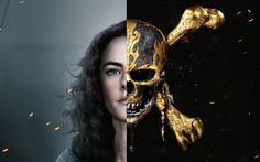 Download wallpapers Pirates Of The Caribbean, Dead Men Tell No Tales, 2017, Kaya Scodelario, Carina Smyth