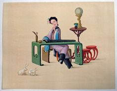 Chinese Miniatures - First Series: Pictures From The Life of a Chinese Lady