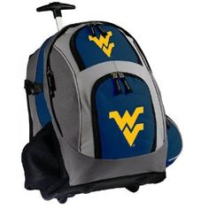 WVU Rolling Backpack Deluxe Navy West Virginia University - Backpacks Bags with Wheels or School Trolley Carry-On Suitcase Bags - Unique Gifts (Apparel)  http://www.99homedecors.com/decors.php?p=B005HEI010  B005HEI010