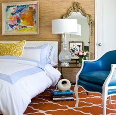 david jiminez orange bedroom