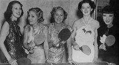 Loretta Young,  Mary Pickford,  Grace Moore, Myrna Loy,   Quon Tai