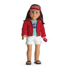 american girl dolls | Chrissa Maxwell American Girl Doll, Accessories, Books, and DVDs