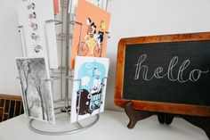 Postcards by Carolina and me that we sell at markets and online; Studio Portrait and Interview with illustrators Carolina Búzio and Theresa Grieben on www.herzundblut.com/blog-1/zu-besuch-bei-buziogrieben © Jules Villbrandt