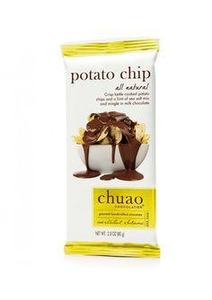 Potato Chip Chocolate bar