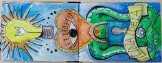 Recycled Mini Sketchbook - Uno de Oliveira
