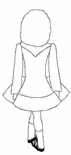 Design your own dress (Irish dance solo dress)