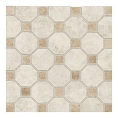 Daltile, Salerno Grigio Perla 12 in. x 12 in. x 6 mm Ceramic Octagon Mosaic Floor and Wall Tile, SL842OCT82MS1P2 at The Home Depot - Mobile