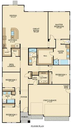 45 Best Lennar Floorplans Single Story Images In 2018
