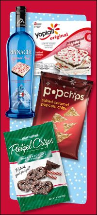 Holiday Sips and Snacks from Hungry Girl!  Pin and add to your grocery list!