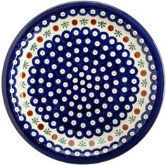 This Bunzlauer dinnerware set by EuroQuest has a charming design in shades of cheerful blue,white, red and green. This hand-crafted set of dinnerware represents a dedication to fine design, superior...