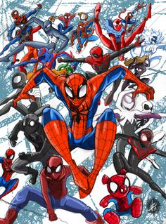 If you love Marvel this is the place for you, 'cause we love Marvel too. Marvel Art, Marvel Heroes, Netflix Marvel Shows, Spaider Man, Spider Verse, Amazing Spider, Live Action, Comic Art, Avengers
