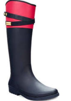 52df39347c Tommy Hilfiger Women's Coree Tall Rain Boots - Shoes - Macy's ❤ ❤ ❤ love  pink and greenish.
