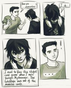 nico di angelo and percy jackson love story - Google Search