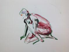 Malli, akvarelli, Aalto 2014