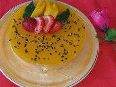 Lulu - Povesti din Bucatarie: Cheesecake cu fructul pasiunii