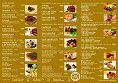 Menu 1 #Food #Menu #Options #Choices #Delicious #Yum #Lebanese #Moroccan #Delicacies #Foodies #FoodPorn