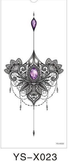 Chest Flah Tattoo Big Flower Shoulder Arm Tattoos Sternum Henna B . - Firat Chest Flah Tattoo Big Flower Shoulder Arm Tattoos Sternum Henna B .<br> Chest Flah Tattoo Big Flower Shoulder Arm Tattoos Sternum Henna B … Sternum Tattoo Design, Gem Tattoo, Sternum Tattoos, Tattoo Arm, Mandala Tattoo Back, Henna Thigh Tattoo, Sleeve Tattoos, Ruby Tattoo, Tattoo Diamond