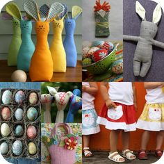 Chez Beeper Bebe: New Crafty Links and Lots o' Easter-y Projects