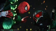 Spiderman And Scorpion Wallpaper Ms Marvel, Marvel Writer, Marvel Comics, Michael Keaton, Stan Lee, Scorpion, Spiderman Ps4 Wallpaper, Playstation, Game Spider Man
