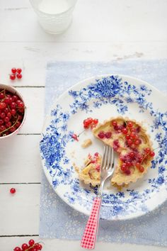Gluten and Dairy Free Sour Cherry And Pastry Cream Gâteau Basque