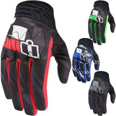 4d54d10751 Icon Anthem Primary Touchscreen Mens Motorcycle Gloves