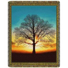Tree of Consciousness Tapestry Throw Blanket  #yoga #blanket #healing #meditation #home #homedecor #decorating #reiki #spa #treeofconsciousness #tree #consciousness