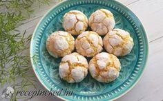 Kókuszos pöffeteg recept fotóval Cookie Recipes, Cauliflower, Muffin, Goodies, Vegetables, Breakfast, Cake, Food, Recipes For Biscuits