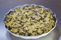Fresh corn and wild rice side dish.  One of my Thanksgiving staples!  TOTALLY trumps nasty green bean casseroles!