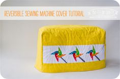 Sewing Machine Cover Tutorial-Intro