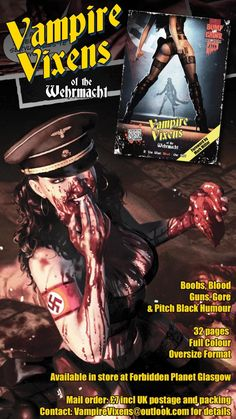 Indie comic Vampire Vixens of the Wehrmacht is now available!