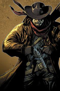 gunslinger illustrations | Amazing Old West Illustrations | Abduzeedo Design Inspiration