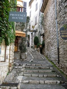 St Paul de Vence, in the hills above Nice. Galleries galore and Gallic gastronomy.