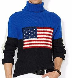 "New Mens Polo Ralph Lauren Classic Flag Turtleneck Sweater Reviews   	  	    	  	$ 395.00 Polo Sweaters Product Features Wool/alpaca/acrylic Dry clean Tapered side seams Ribbed hem Ribbed turtleneck collar Long sleeves with ribbed cuffs Embroidered ""RL"" logo at the left hem Contrasting stripe along each sleeve Polo Sweaters Product Description This classic turtleneck sweater is crafted from a soft wool blend and features a color-blocked design with […]  http://www.freesweaters..."