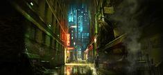 Dangerous Alleyway by atomhawk on DeviantArt