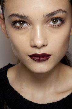 dark wine lips