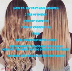 How To Grow Hair Faster, Thicker and Longer – Hair Growth Secrets for Overnight, Days, Weeks & Months – Hair Care Tips Belleza Diy, Tips Belleza, How To Grow Your Hair Faster, Tips To Grow Hair, Thicker Hair Tips, How To Long Hair, Grow Long Hair Fast, Grow Longer Hair, Long Hair Growing Tips