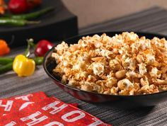Adobo and Roasted Peanut Popcorn - Yield: 4 quarts