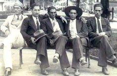 Revolucionários de São Pedro-SP: José Augusto Frota Escobar, morto em combate, Irineu Escobar, seu irmão, Ataliba Piedade, Geraldo Bastos e Geraldo Frota de Andrade
