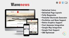Wavenews is a clean and powerful WordPress Theme. It's an incredible premium theme with powerful customzi with powerful customization settings that helps you transform it into your unique business …